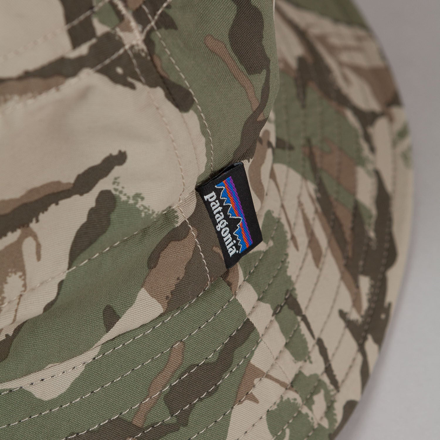 Patagonia Surf Brim Hat - Painted Camo Camp Green