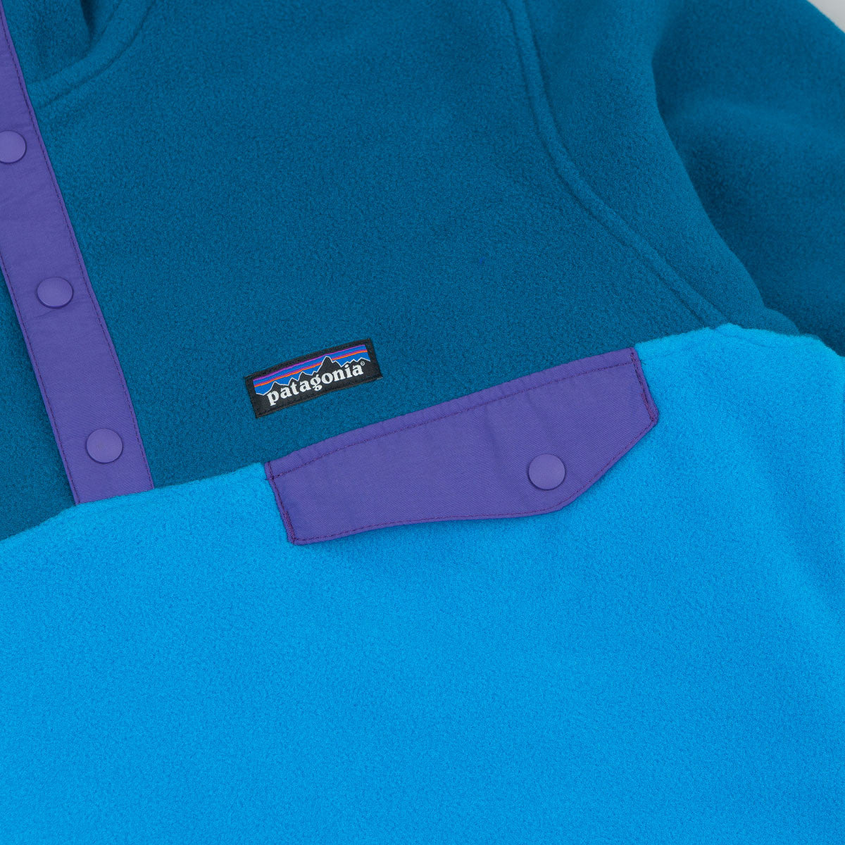 Patagonia Synchilla Snap-T Hooded Fleece - Electron Blue