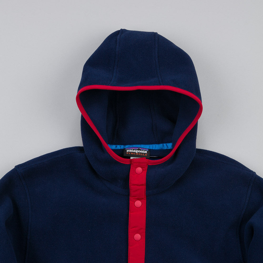 Patagonia Synchilla Snap T Hoody Classic Navy / Nickel