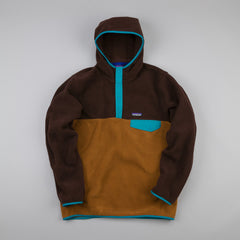 Patagonia Synchilla Snap T Hoody Java Brown