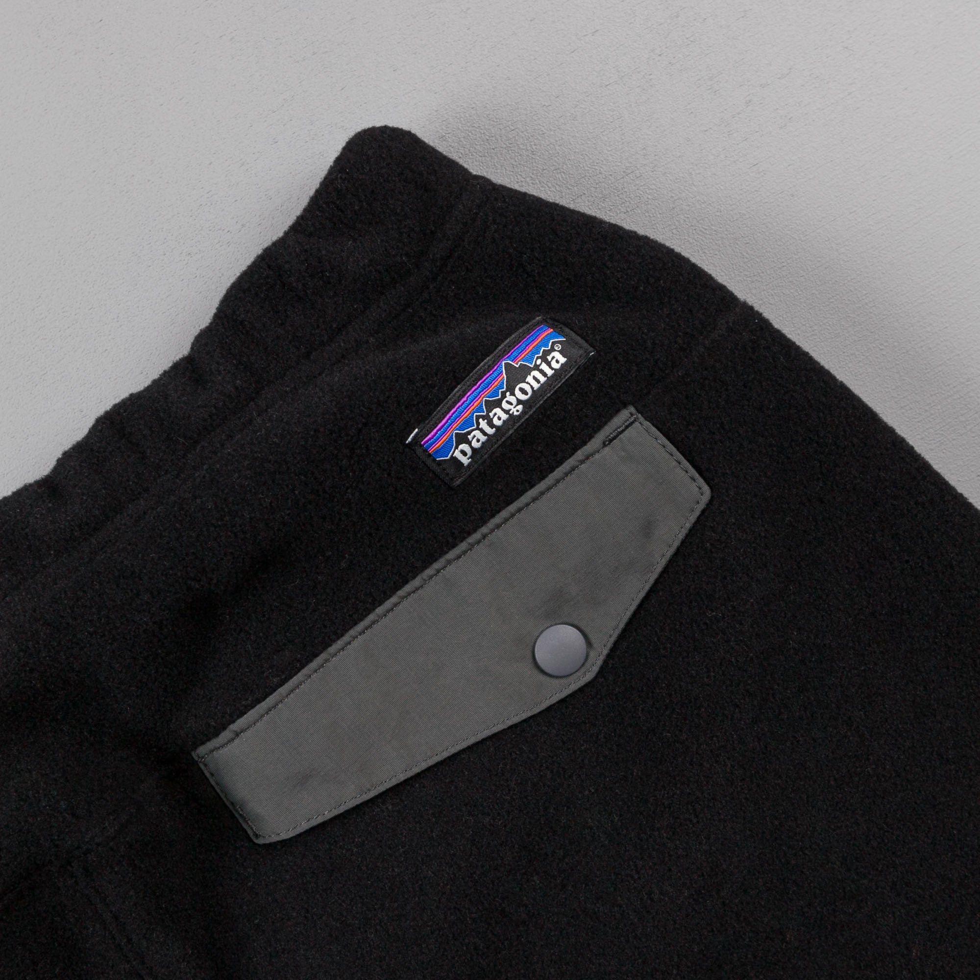 Patagonia Synchilla Snap-T Pant - Black / Forge Grey