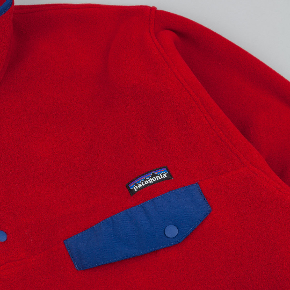 Patagonia Synchilla Snap-T Pullover Fleece - Classic Red
