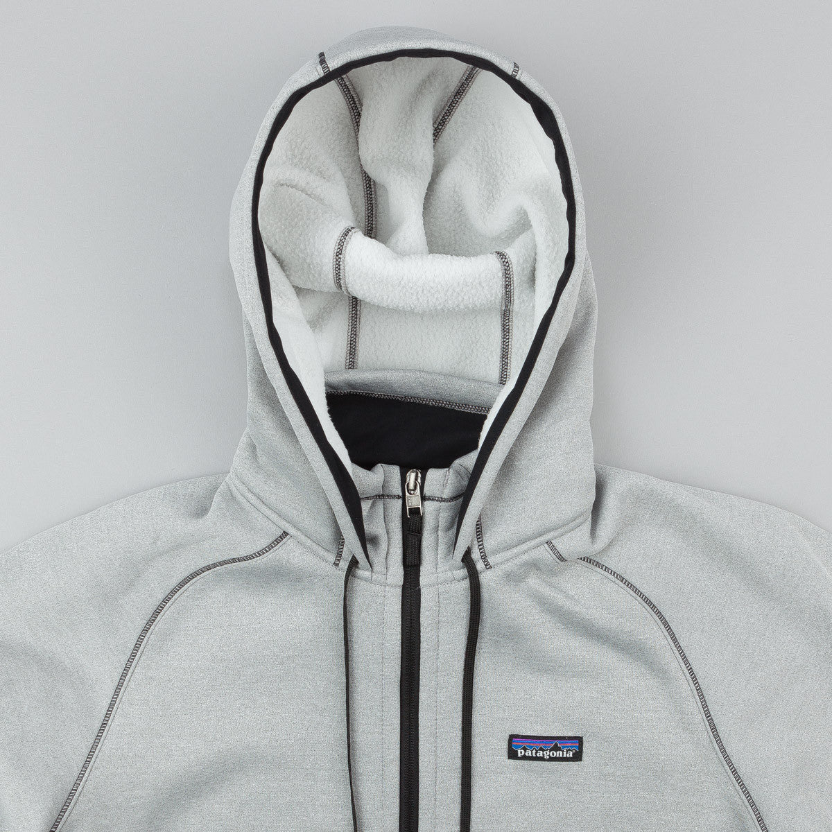 Patagonia Tech Fleece Hooded Sweatshirt - Birch White