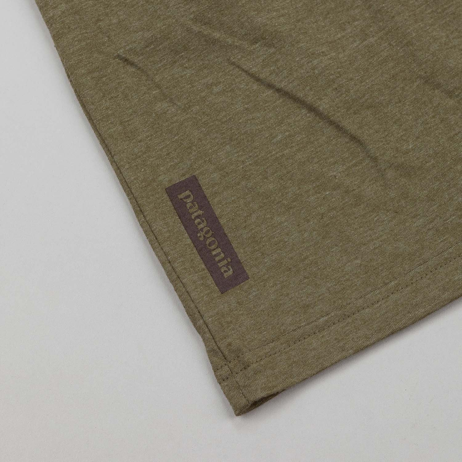 Patagonia Tent Life T-Shirt - Fatigue Green