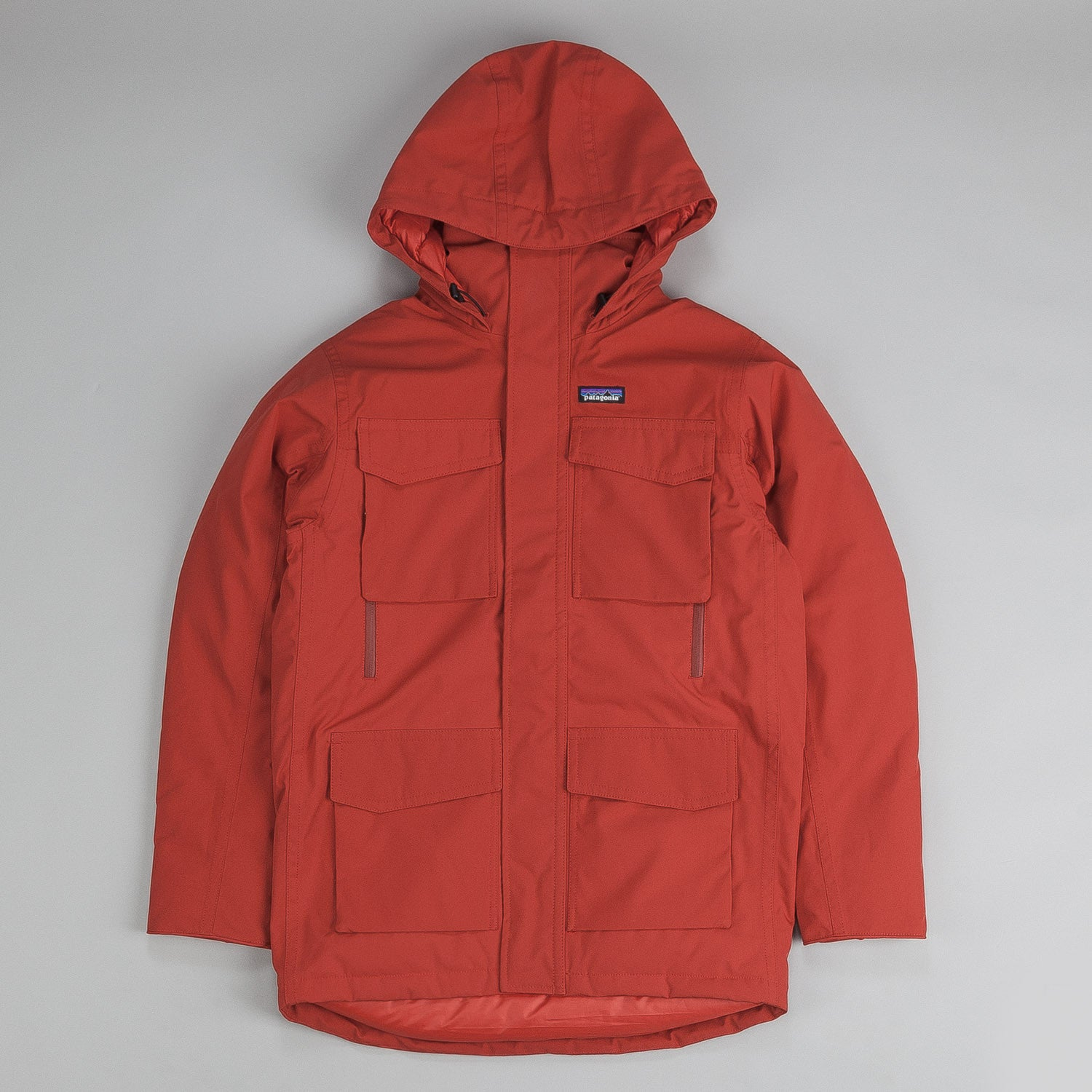 Patagonia Thundercloud Down Parka Cochineal Red