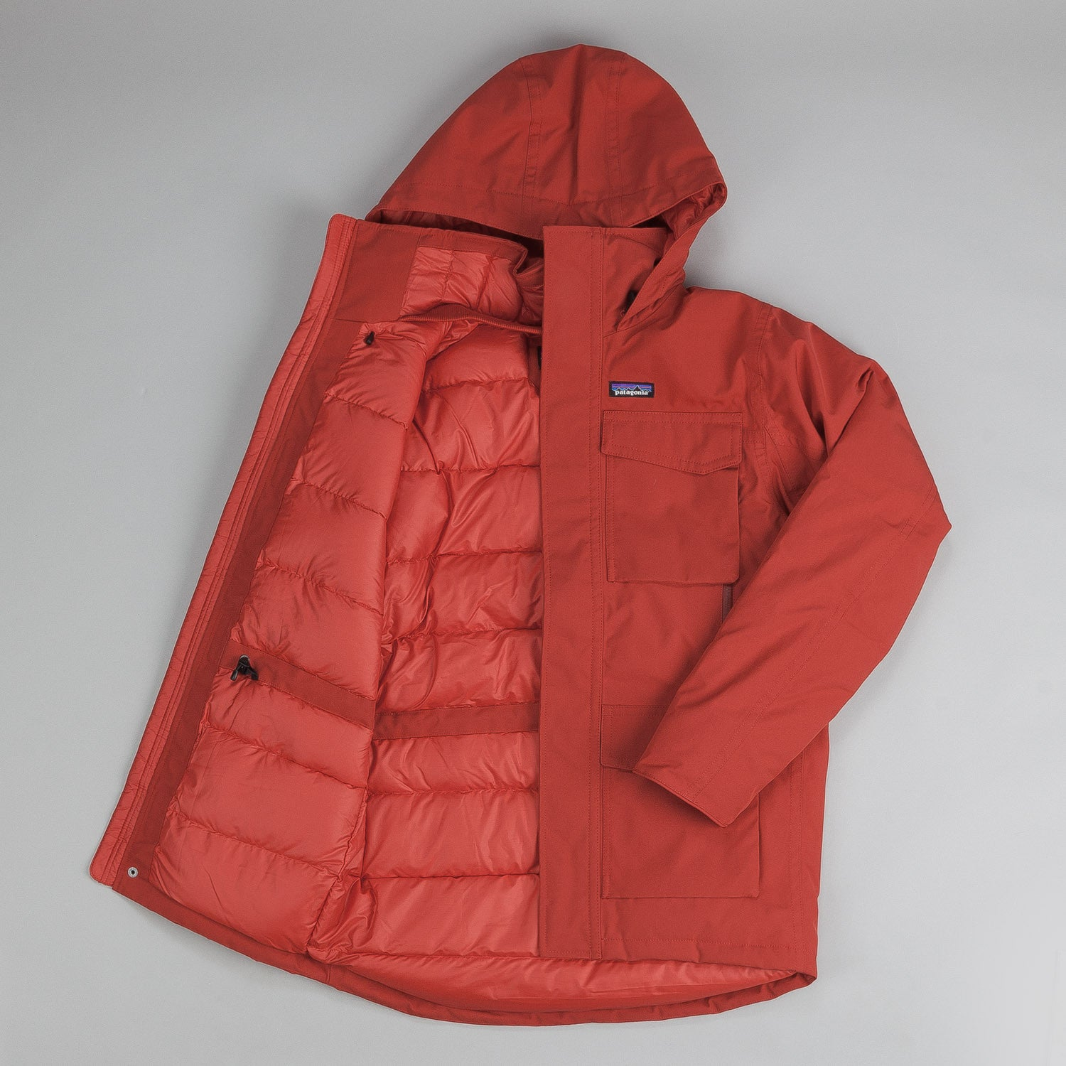 Patagonia Thundercloud Down Parka - Cochineal Red