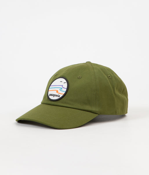 Patagonia Tide Ride Trad Cap - Sprouted Green  f6dcc4a6291