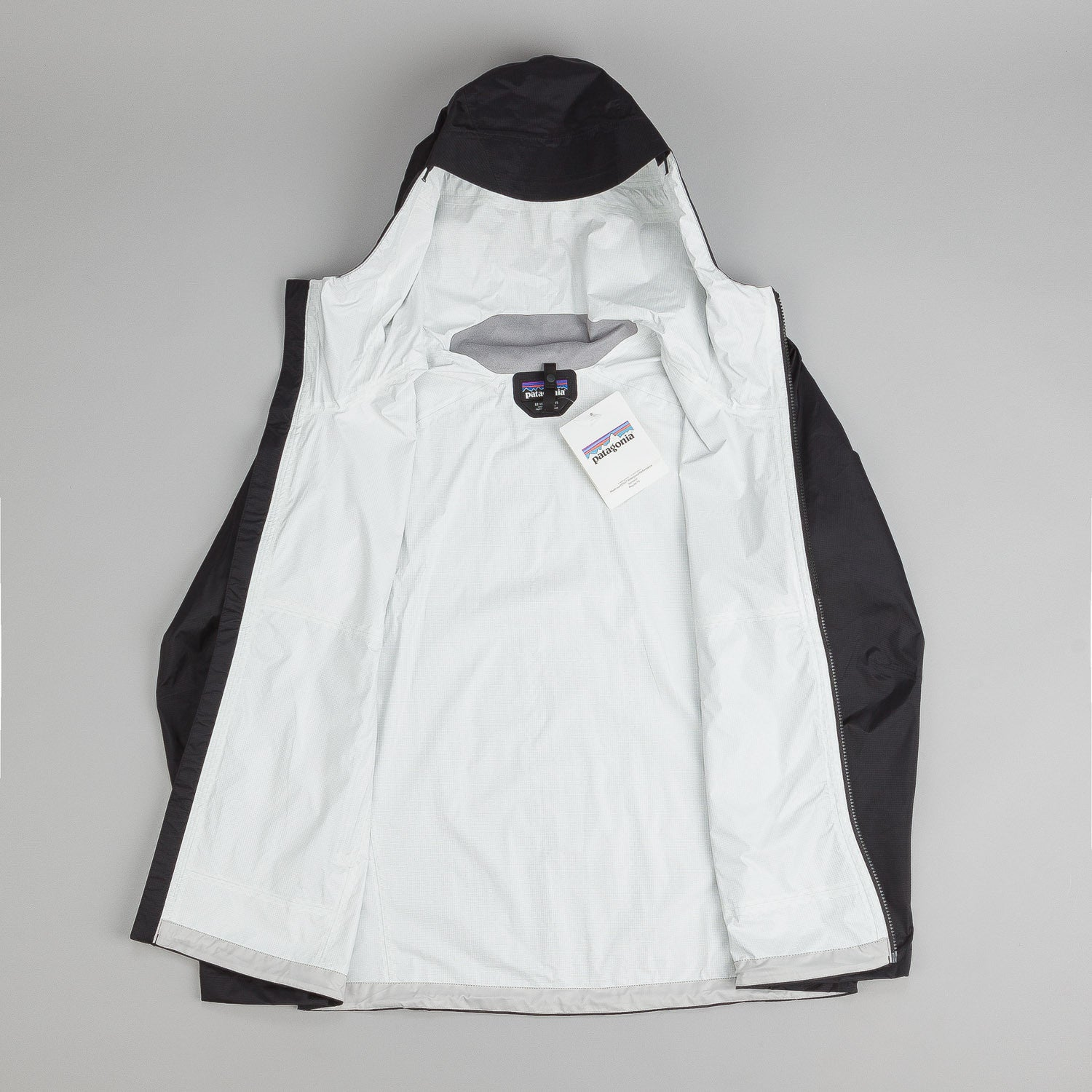 Patagonia Torrentshell Jacket - Black / White