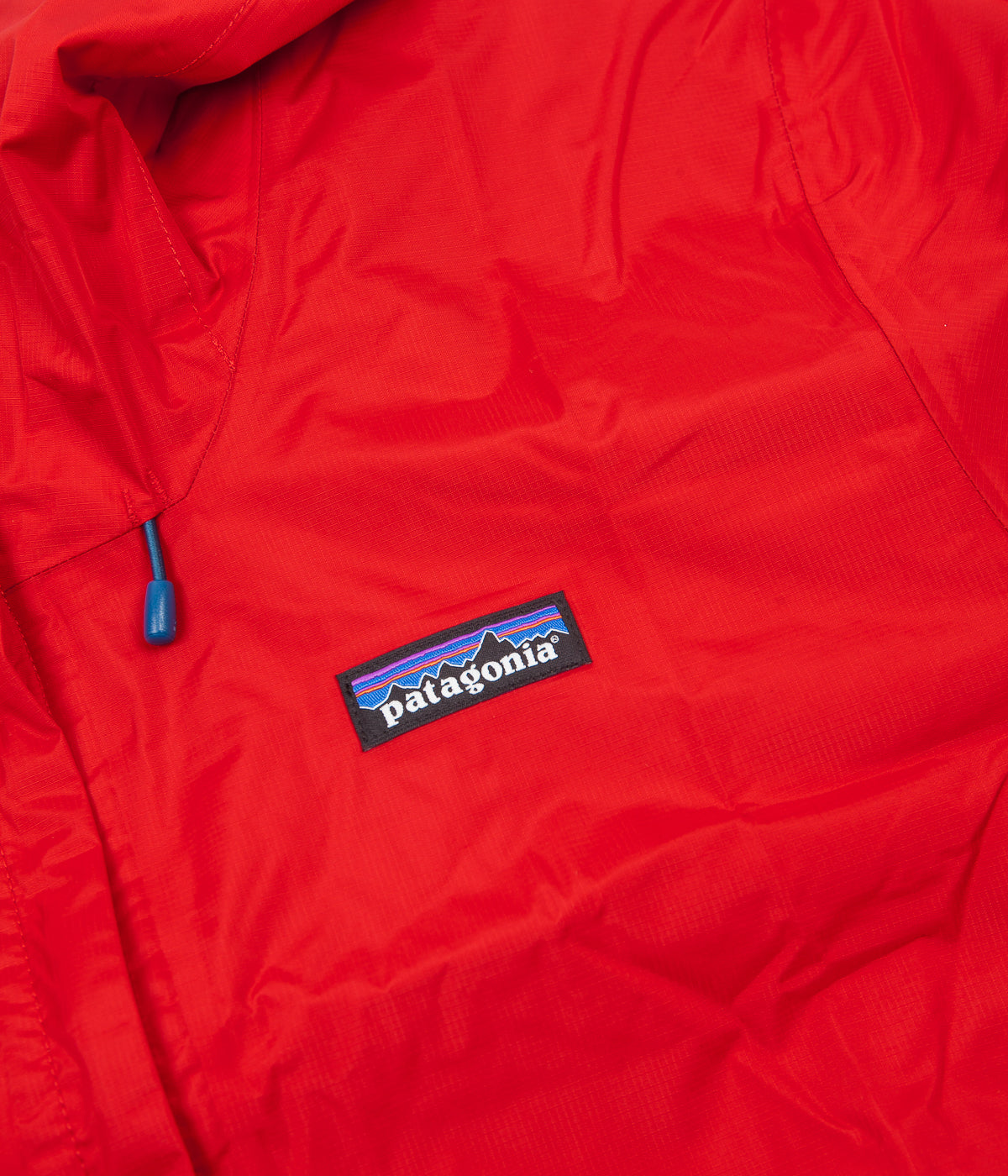 Patagonia Torrentshell Jacket - Fire / Big Sur Blue