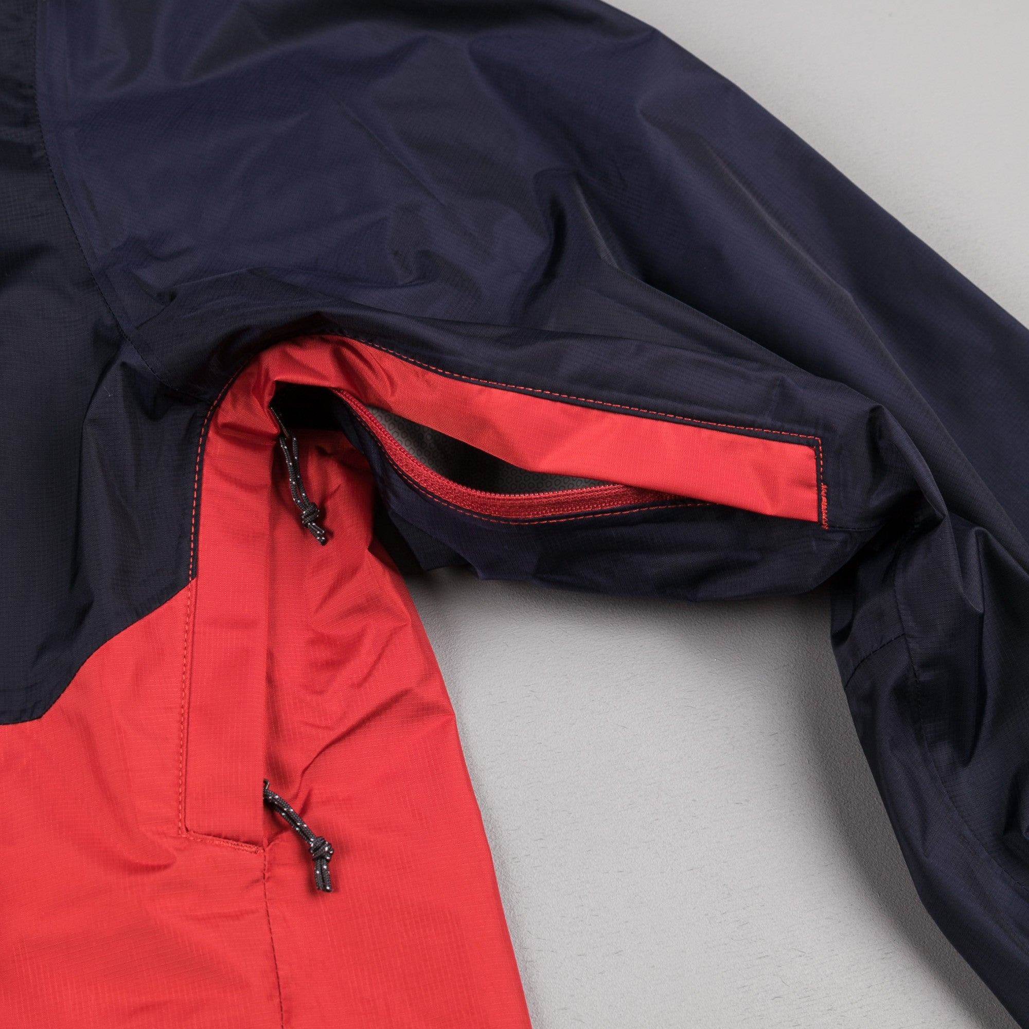Patagonia Torrentshell Jacket - Navy Blue / Ramble Red