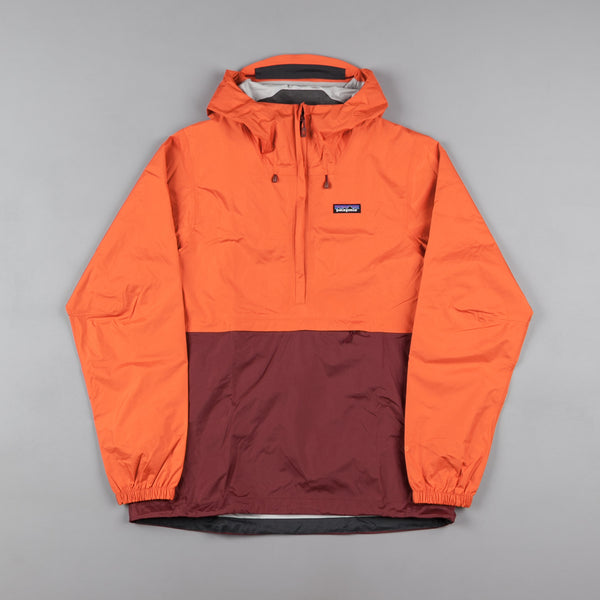 Patagonia Torrentshell Pullover Jacket - Cusco Orange