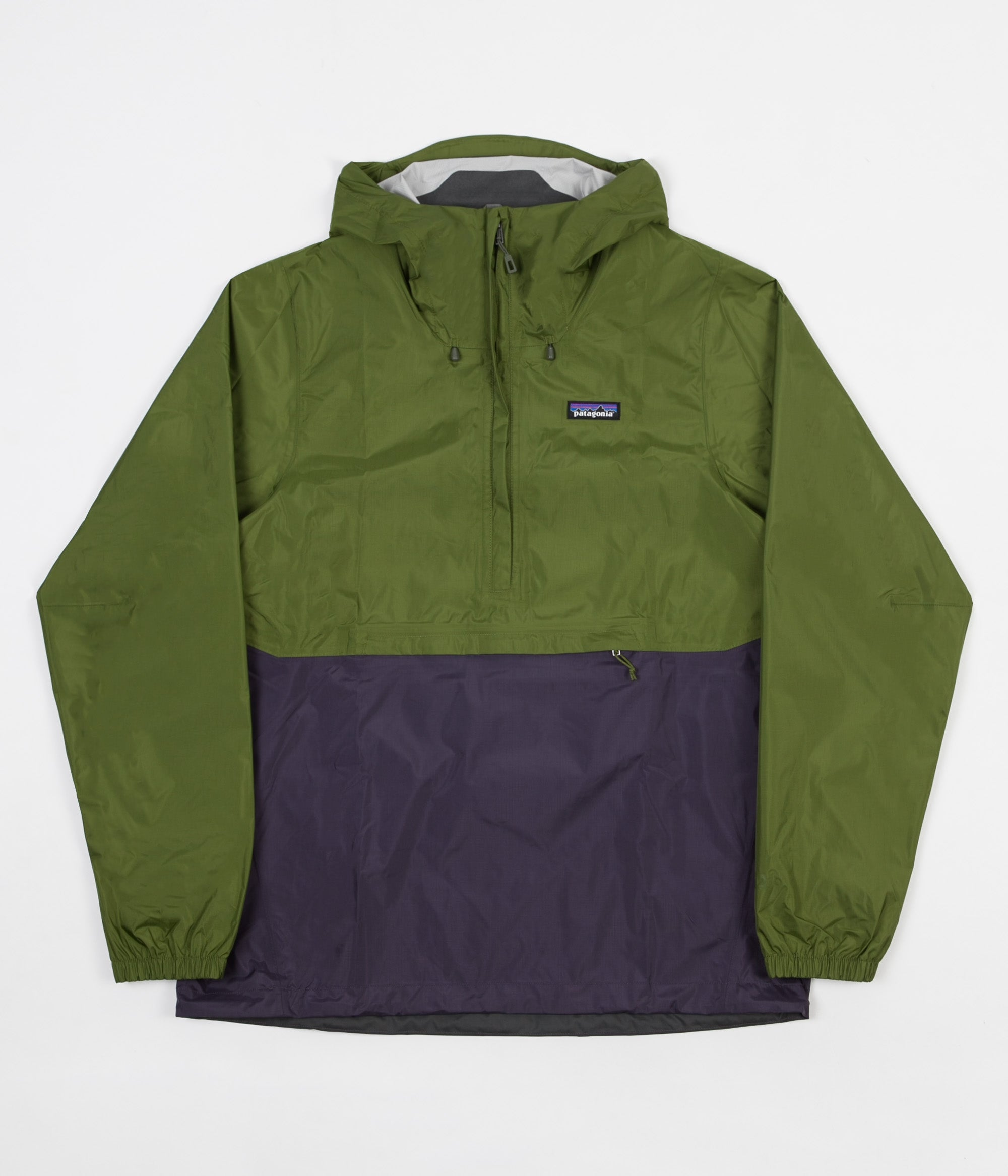 Patagonia Torrentshell Pullover Jacket Sprouted Green