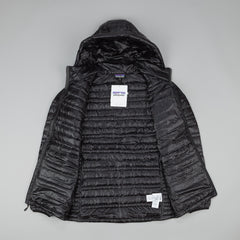 Patagonia Ultralight Down Sweater Hooded Jacket - Black