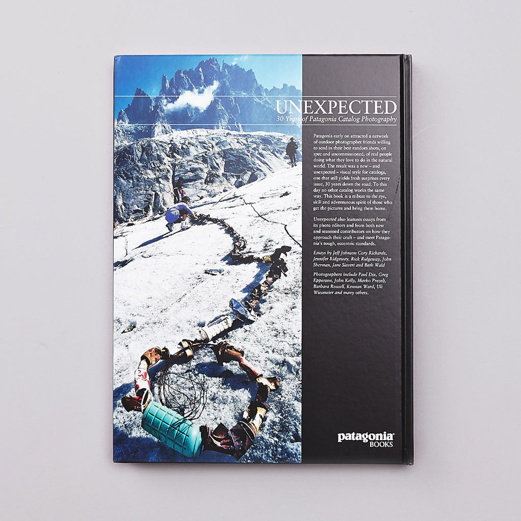 Patagonia Books Unexpected - 30 Years of Patagonia Catalog Photography