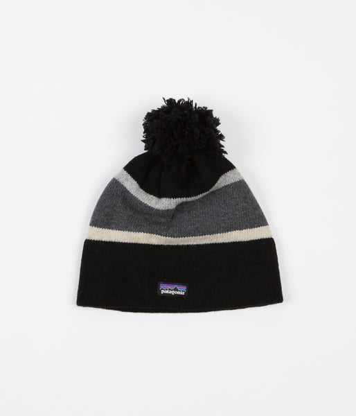 Patagonia Vintage Town Beanie - Scaler Stripe / Feather Grey