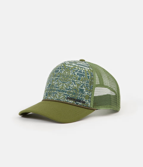 a3614e78613 Patagonia Wave Worn Interstate Cap - Sprouted Green