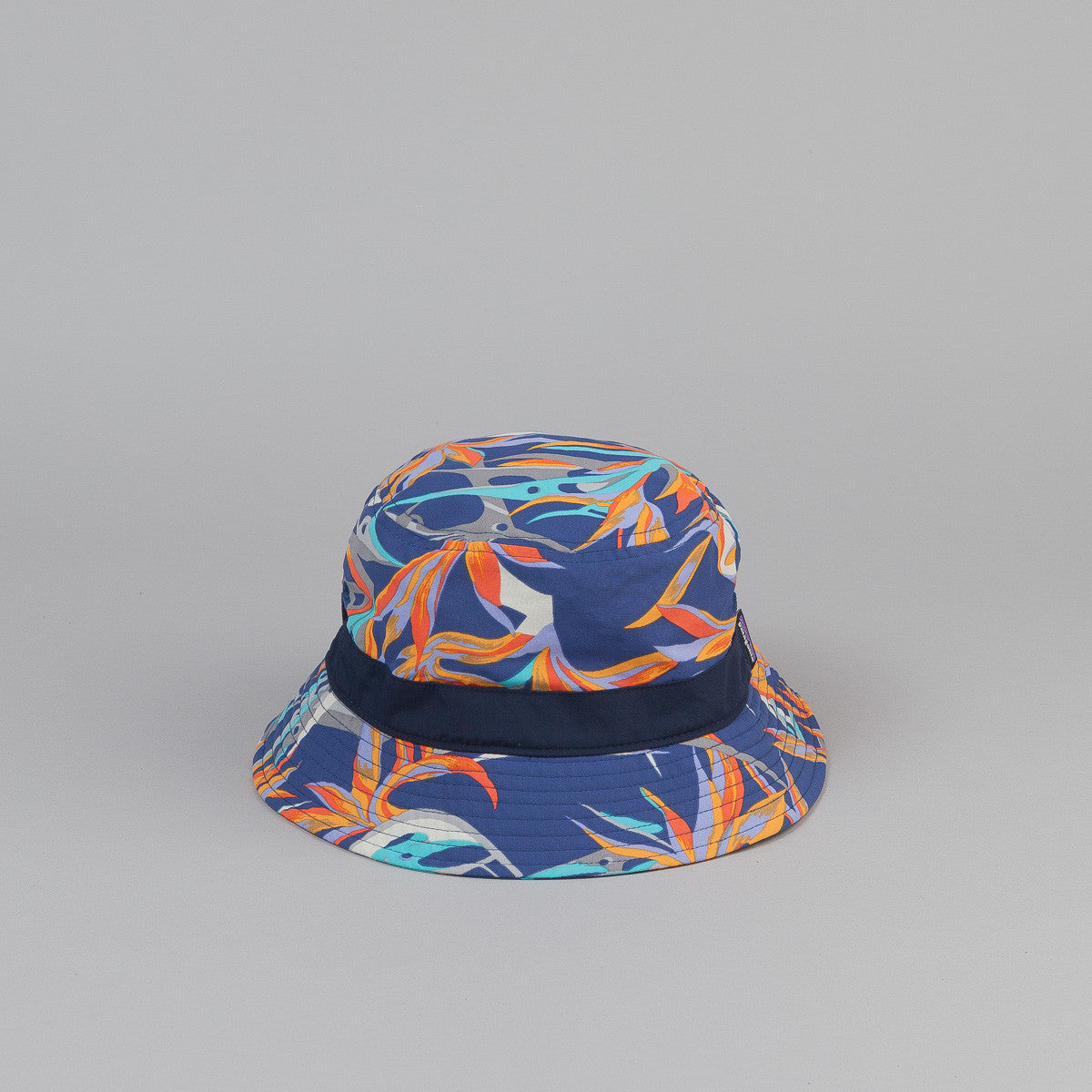 Patagonia Wavefarer Bucket Hat - Piton Paradise: Channel Blue