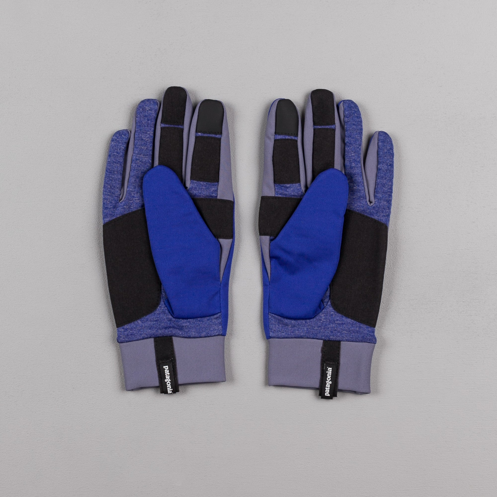 Patagonia Wind Shield Gloves - Harvest Moon Blue