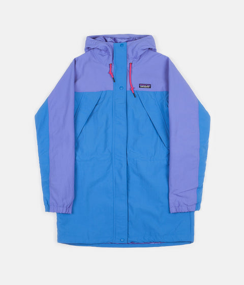 Patagonia Womens Skyforest Parka - Port Blue