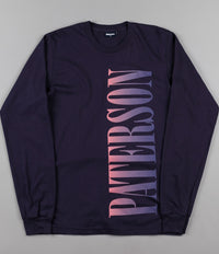 Paterson Nightfall Knit Long Sleeve T-Shirt - Navy