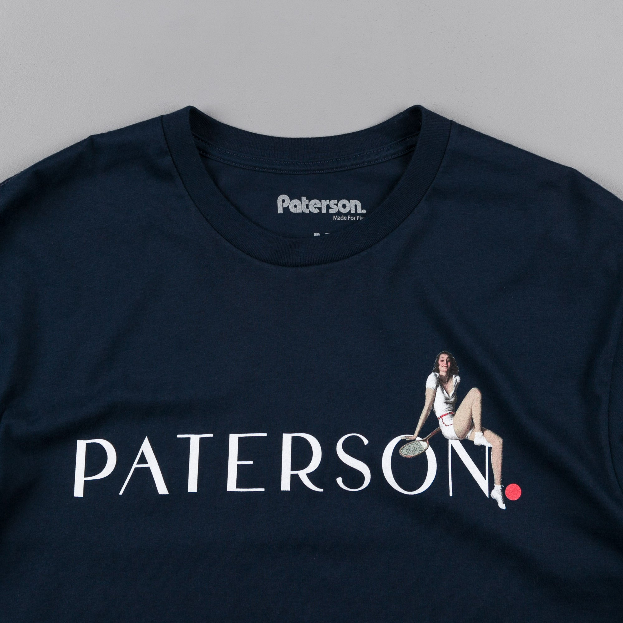 Paterson Pin Up T-Shirt - Navy