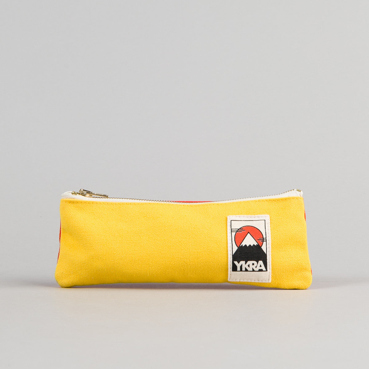 YKRA Pencil Case - Yellow - Orange