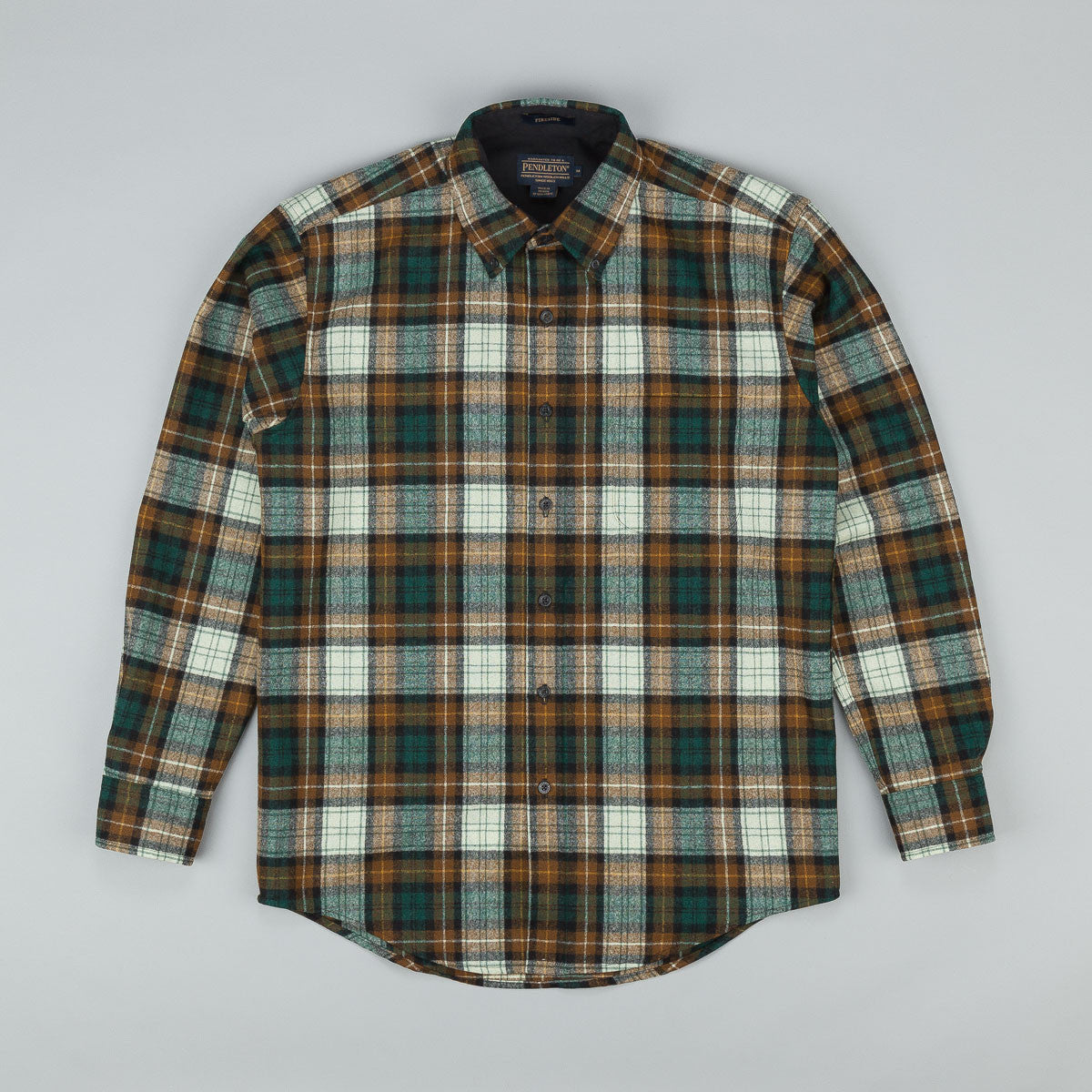 Pendleton Fireside Button Down Shirt - Tan