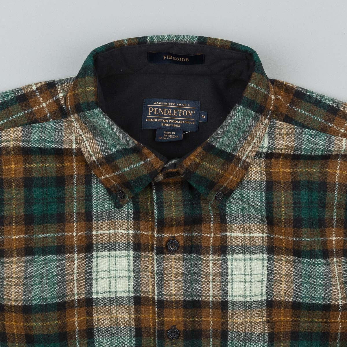 Pendleton Fireside Button Down Shirt - Brown