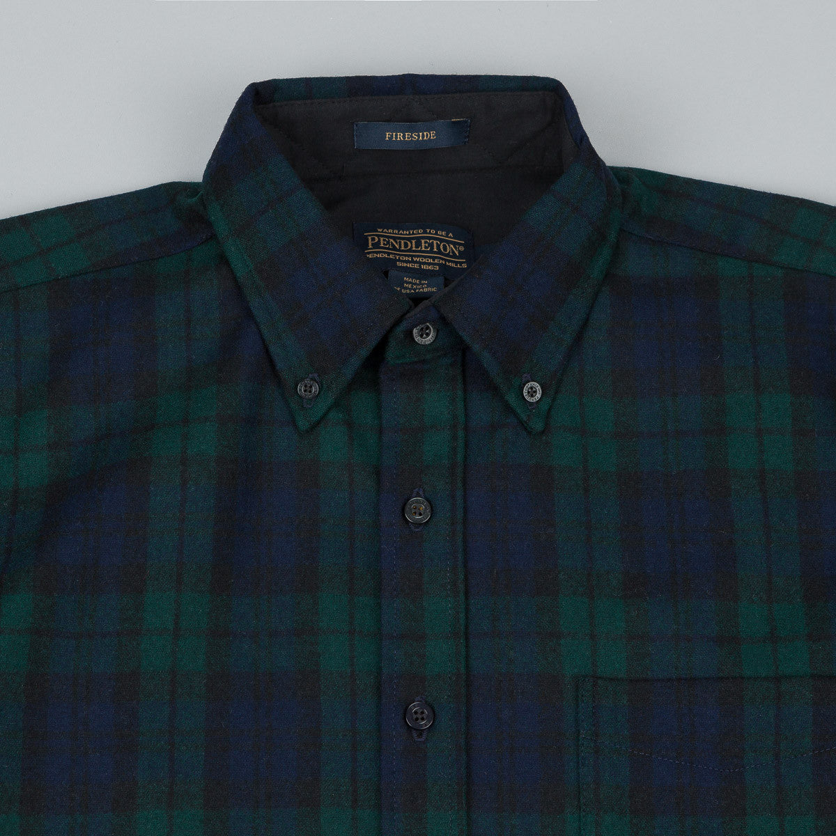Pendleton Fireside Button Down Shirt - Tartan