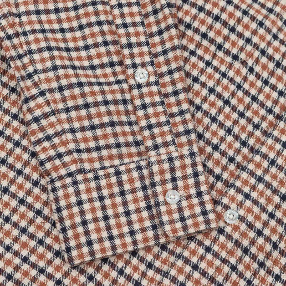 Penfield Ashley Long Sleeve Plaid Shirt - Brown