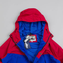Penfield Clarkdale Hooded Shell Jacket Red / Cobalt