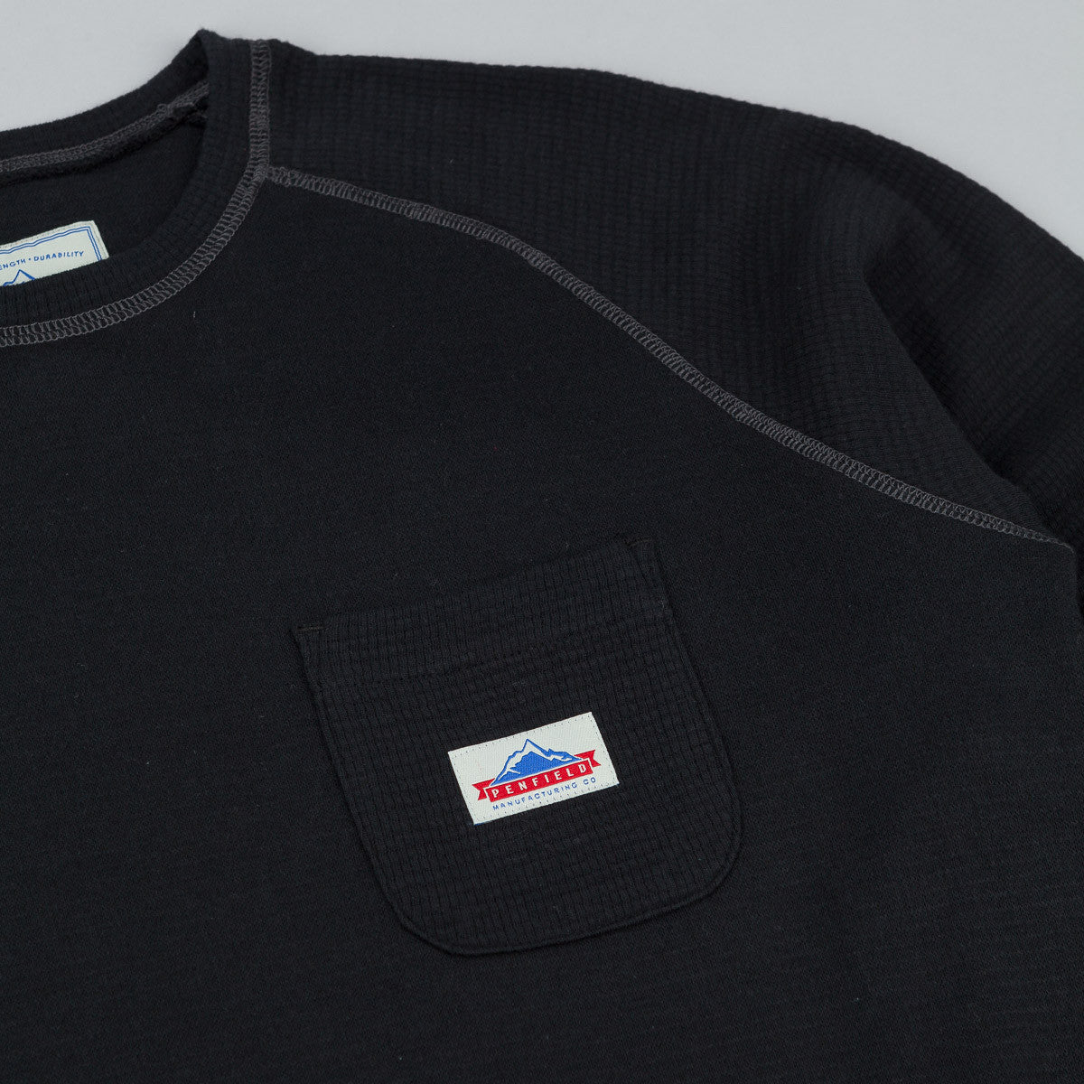 Penfield Easton Long Sleeve T-Shirt - Black