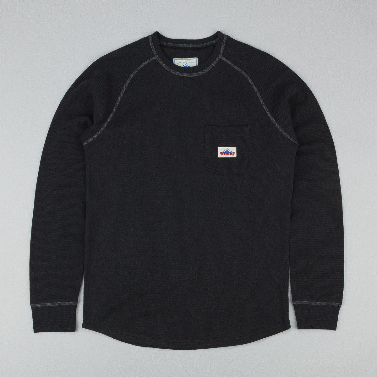 Penfield Easton L/S T-Shirt - Black