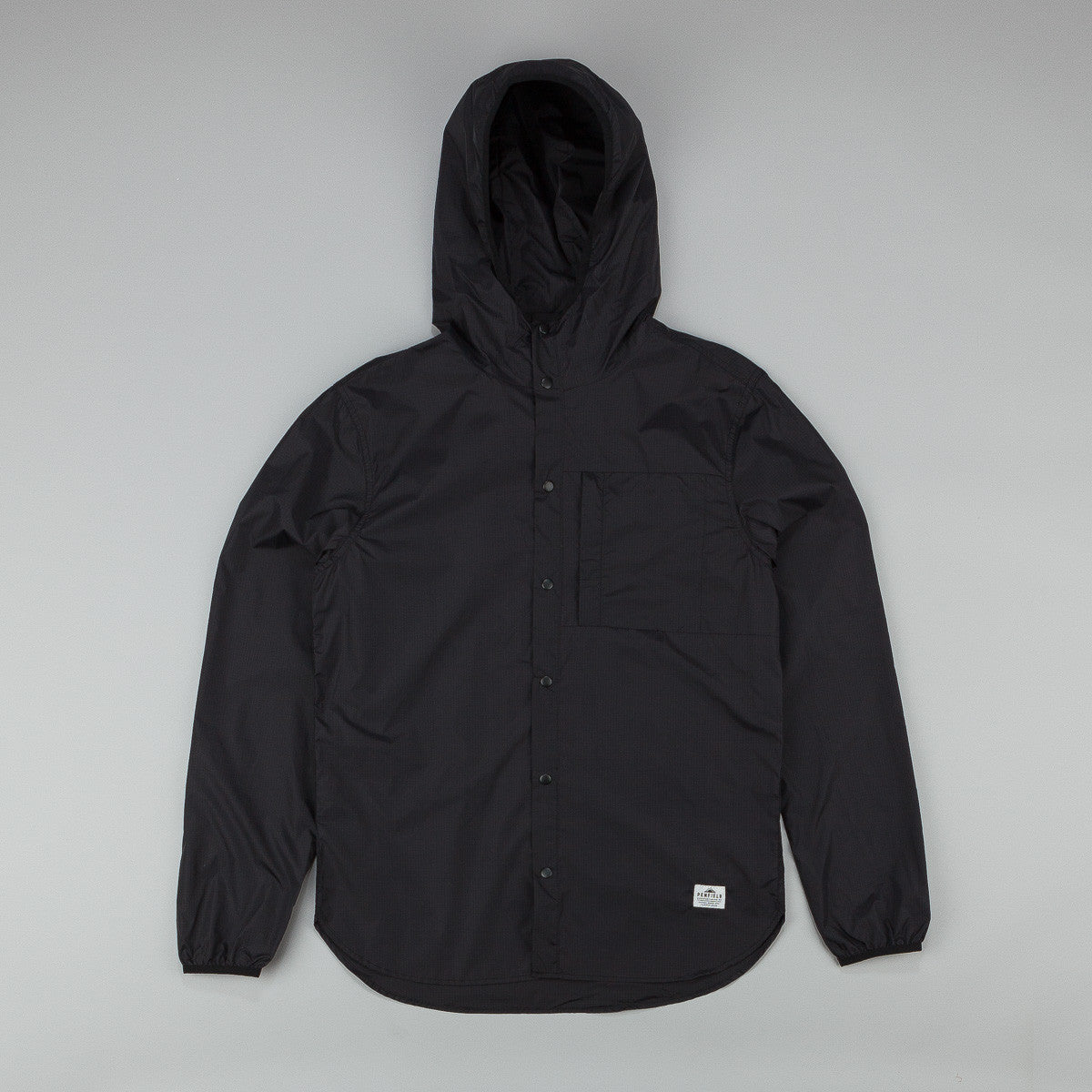 Penfield Fallowfield Ripstop Nylon Packable Hooded Shirt