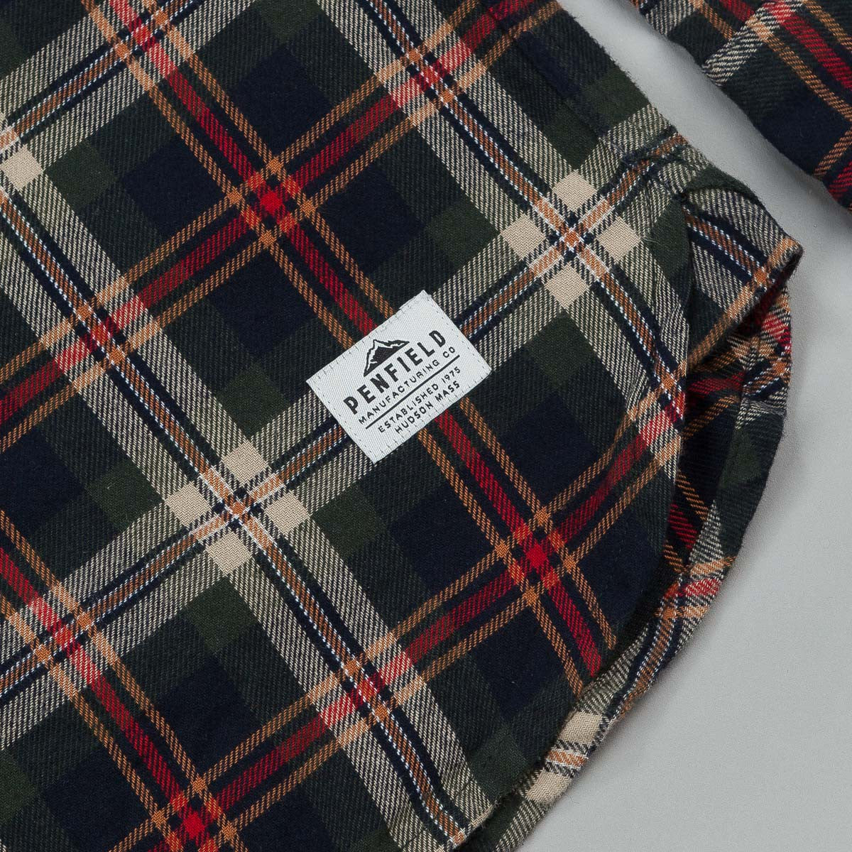 Penfield Harmon Plaid Long Sleeve Shirt - Green