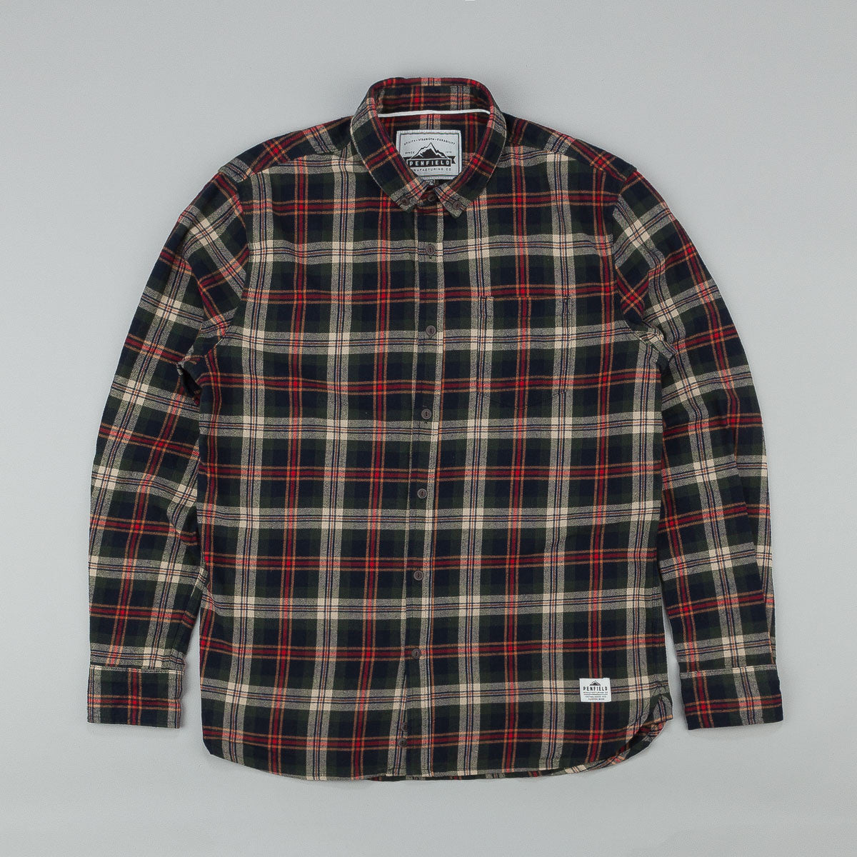 Penfield Harmon Plaid Long Sleeve Shirt