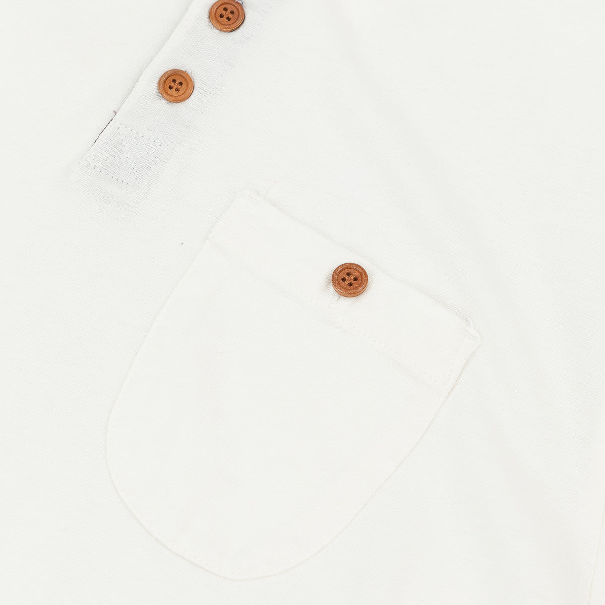 Penfield Henley T-Shirt - Vintage White