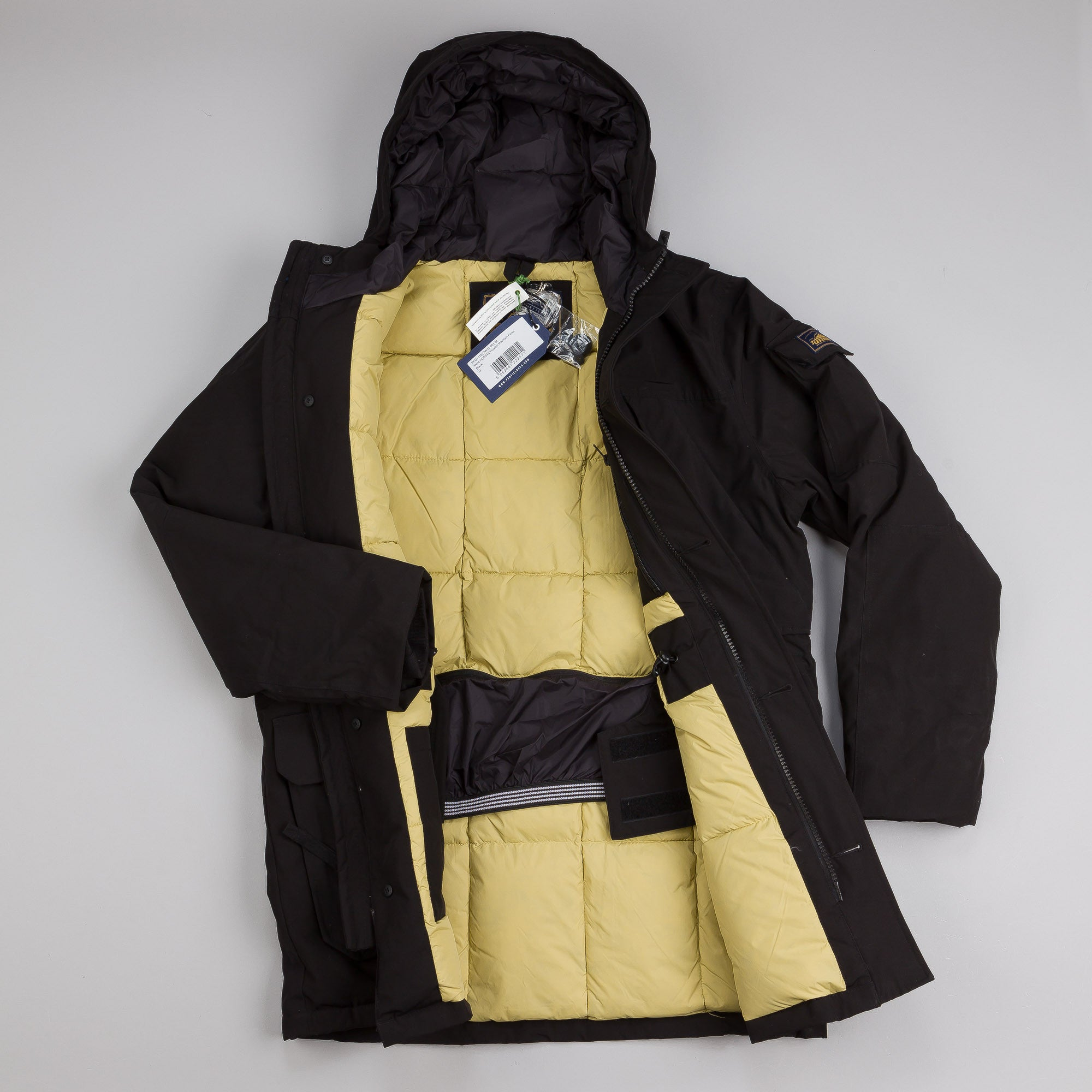 Penfield Hoosac Hooded Mountain Parka Black
