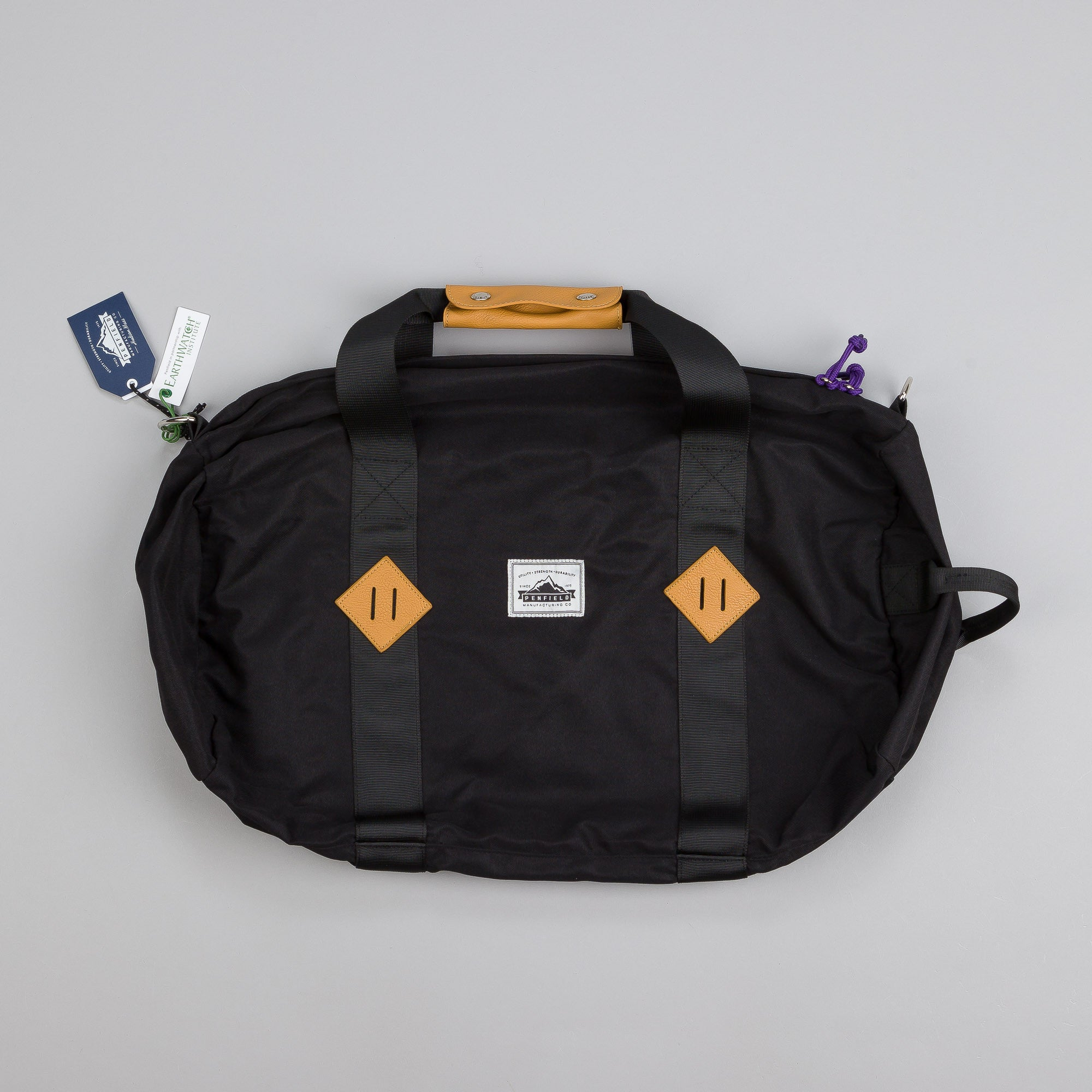 Penfield Irondale Roll Bag Black