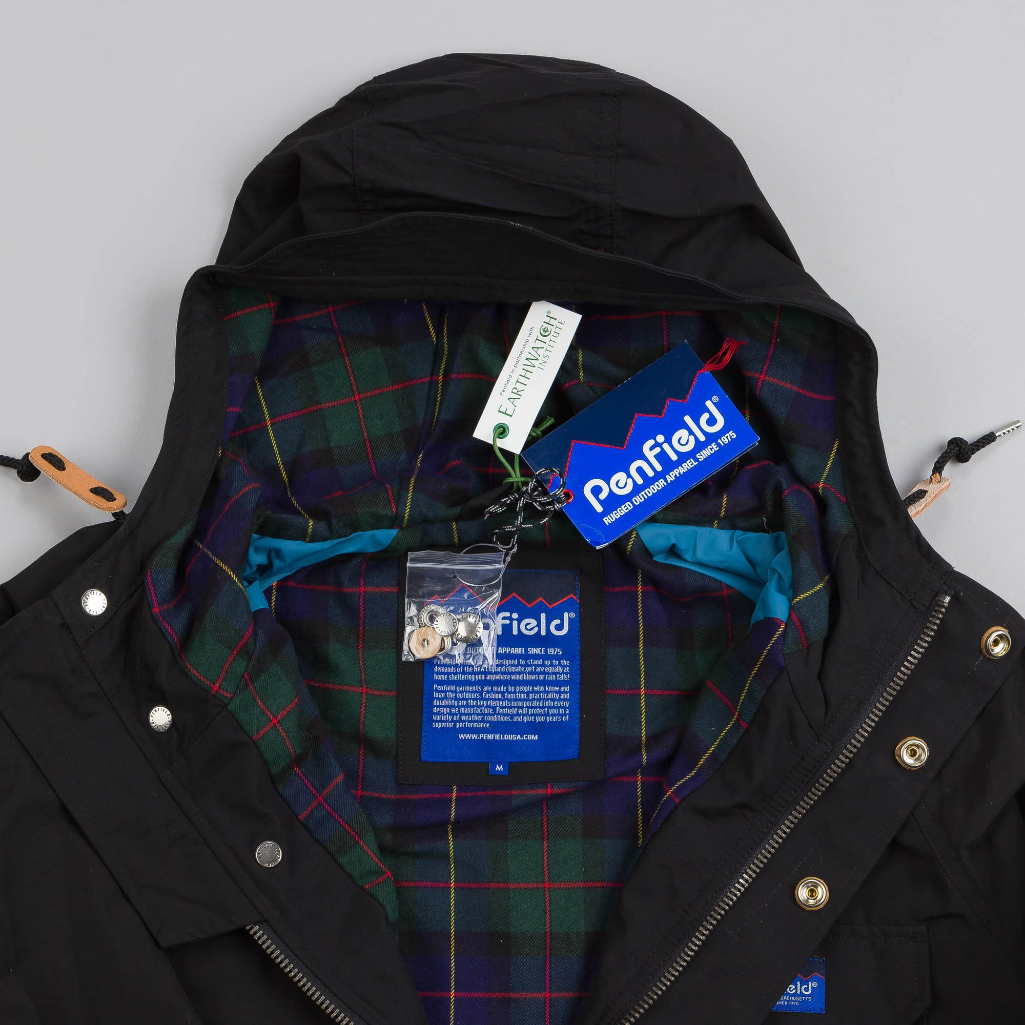 Penfield Kasson Mountain Parka Black