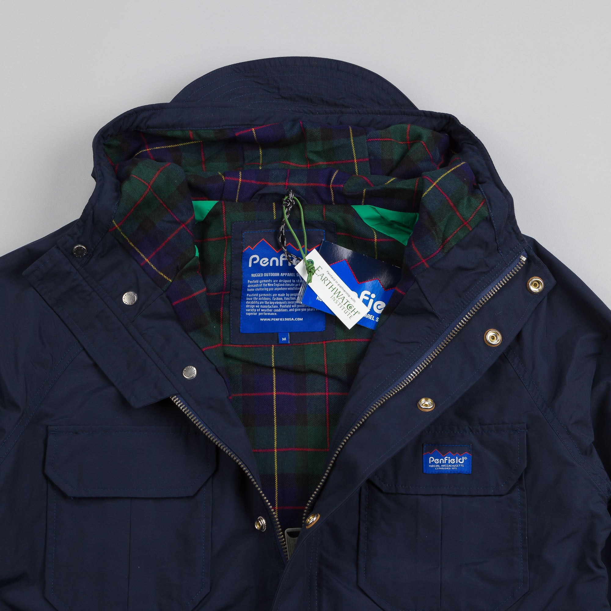 Penfield Kasson Mountain Parka Navy