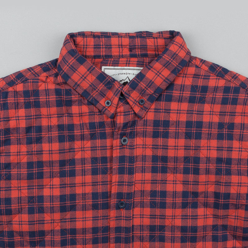 Penfield Kemsey Quilted Long Sleeve Shirt - Red