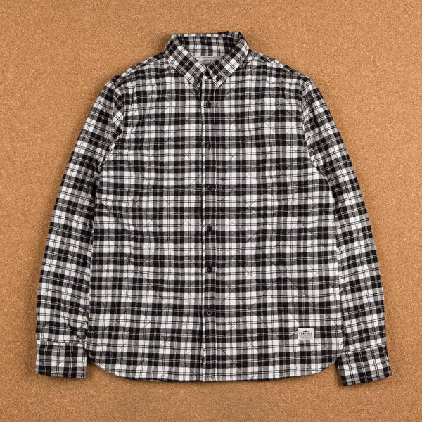 Penfield Kemsey Quilted Long Sleeve Shirt - Black