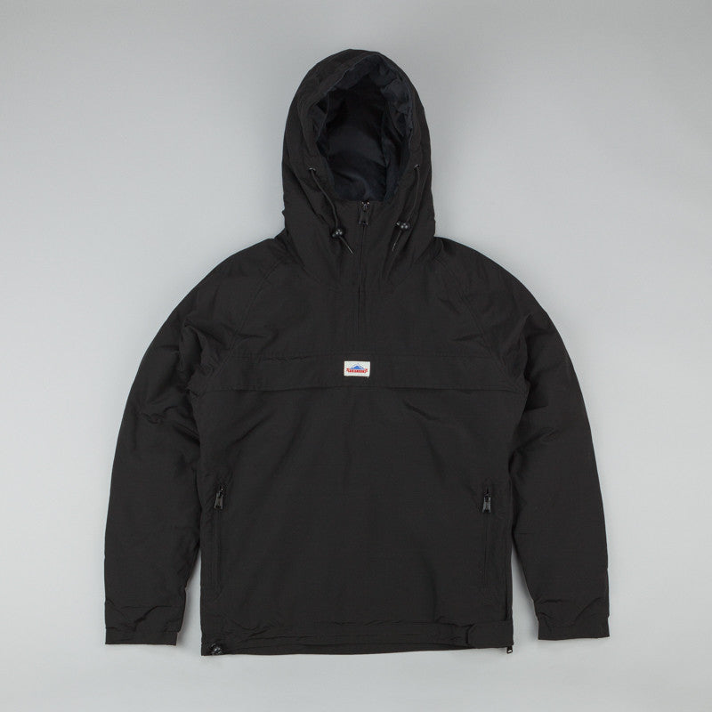 Penfield ELK Pullover Hooded Anorak Black