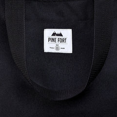 Pine Fort Large Tote Black