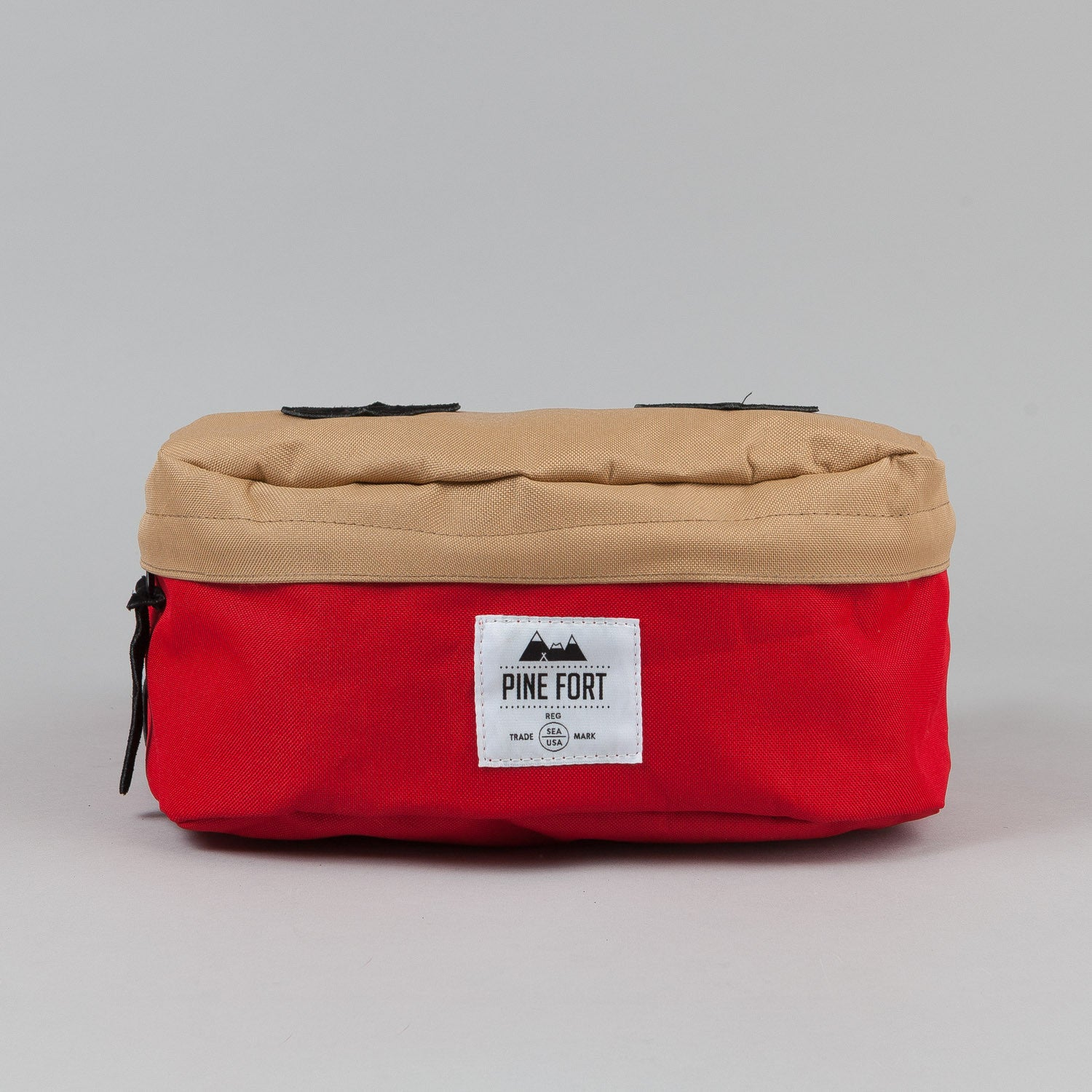 Pine Fort Waist Pack Tan / Red