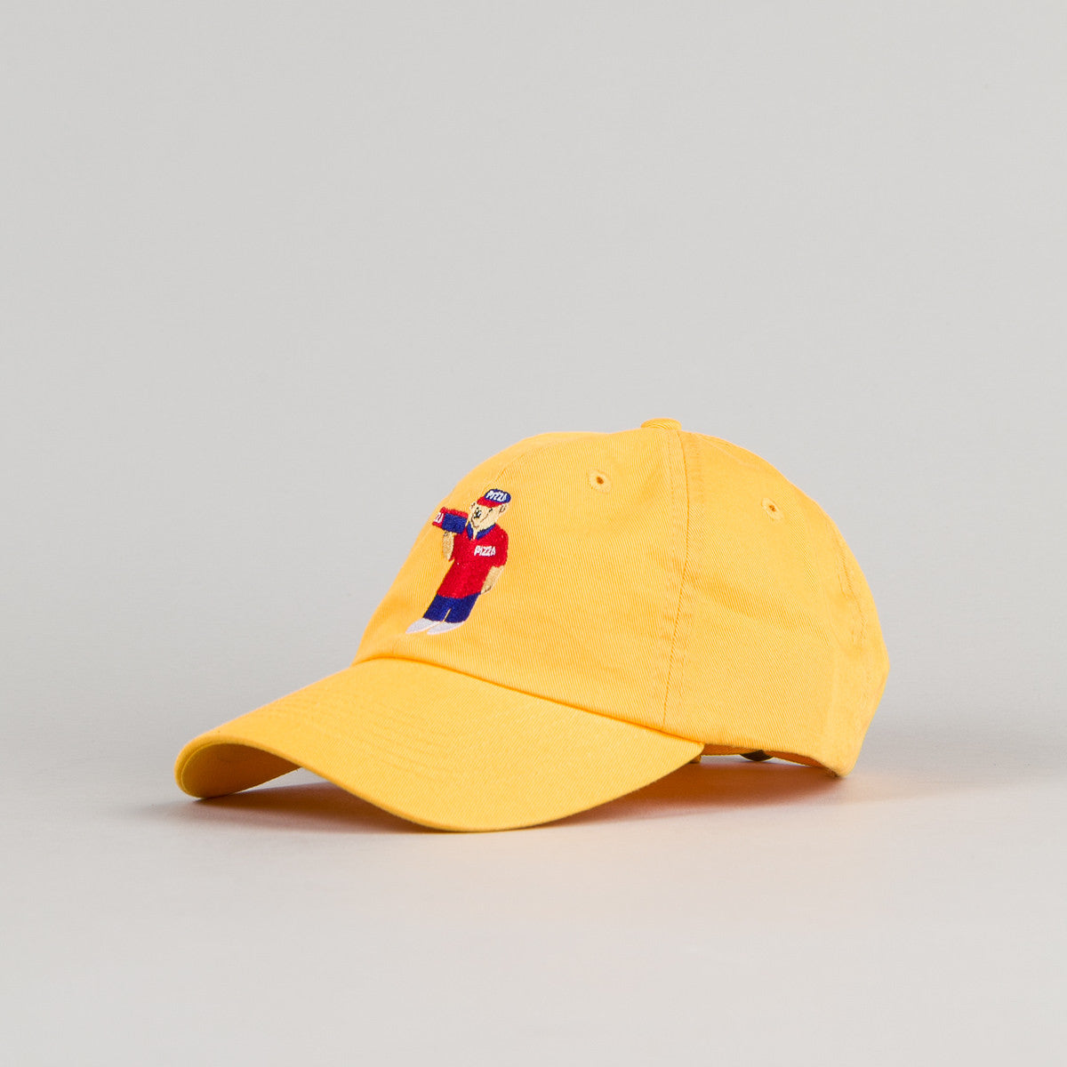 Pizza Skateboards Pizza Bear Delivery Boy Cap - Yellow
