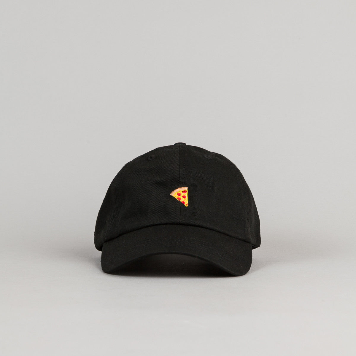 Pizza Skateboards Emoji Delivery Boy Cap - Black