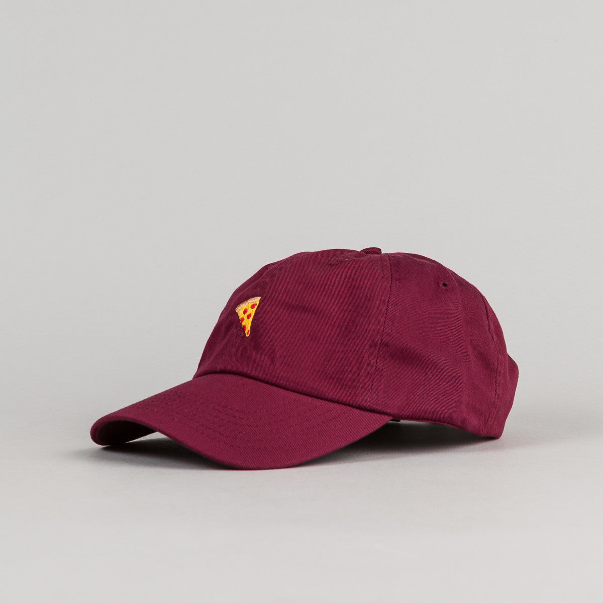 Pizza Skateboards Emoji Delivery Boy Cap - Burgundy