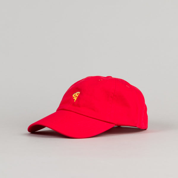 Pizza Skateboards Emoji Delivery Boy Cap - Red